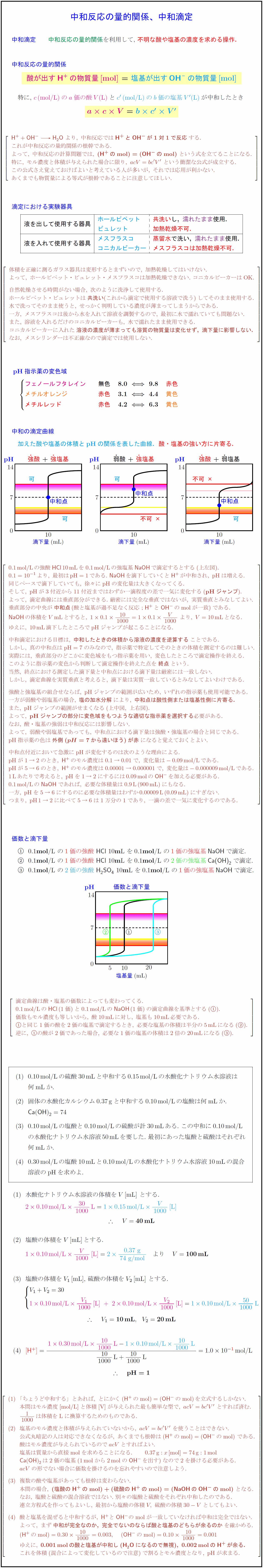 neutralization-titration