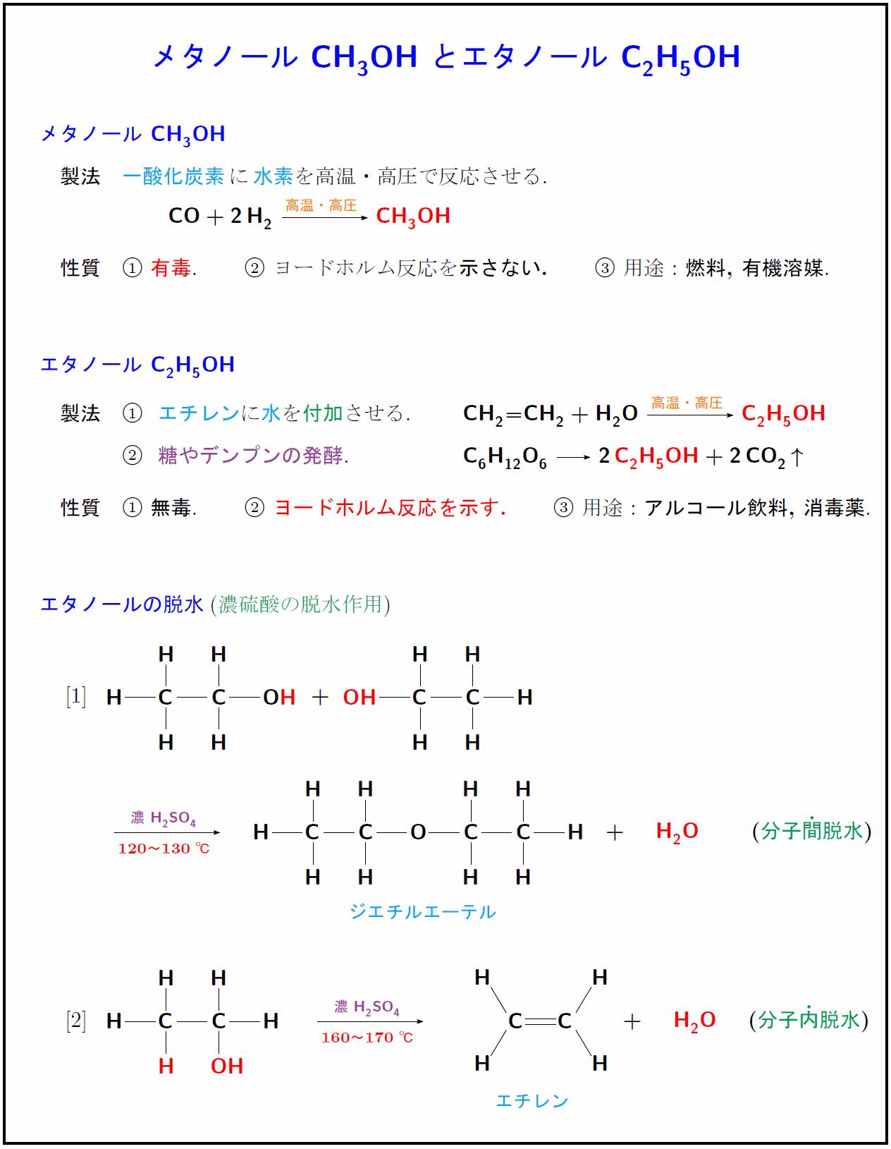 methanol-ethanol
