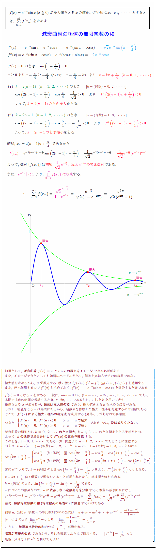 decay-curve-extremum