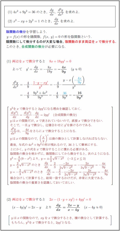 implicit-function-derivation