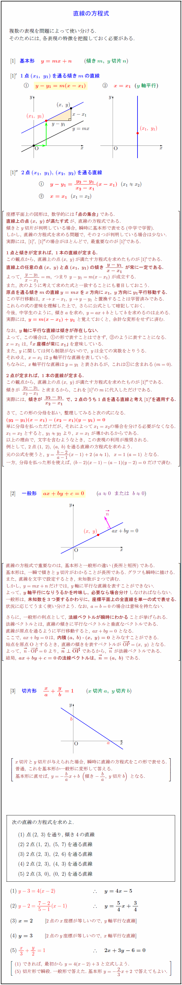 line-equation
