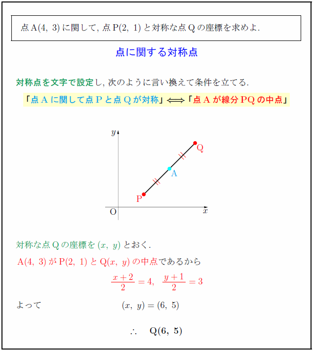 symmetric-point