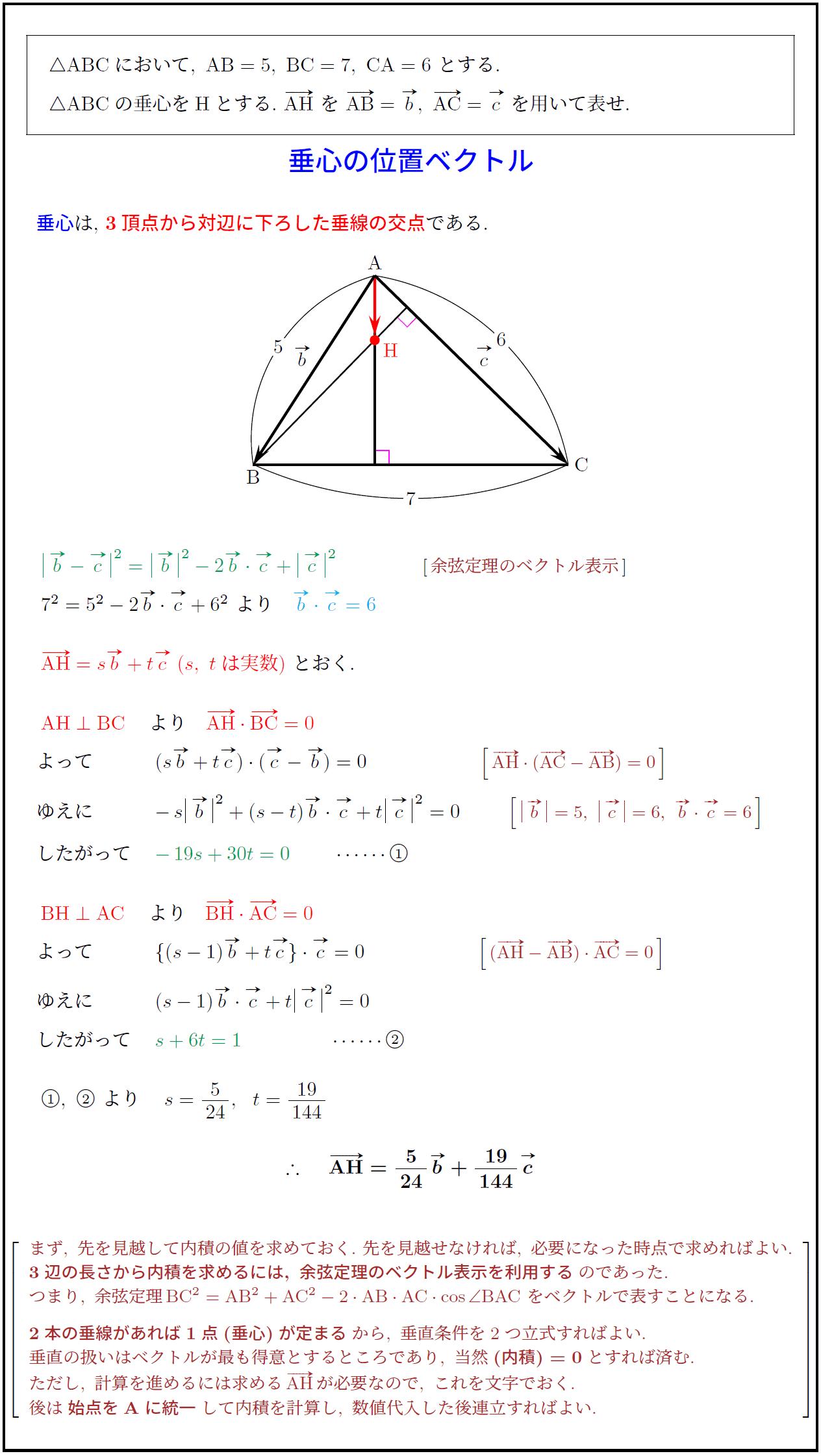 高校 数学 ベクトル