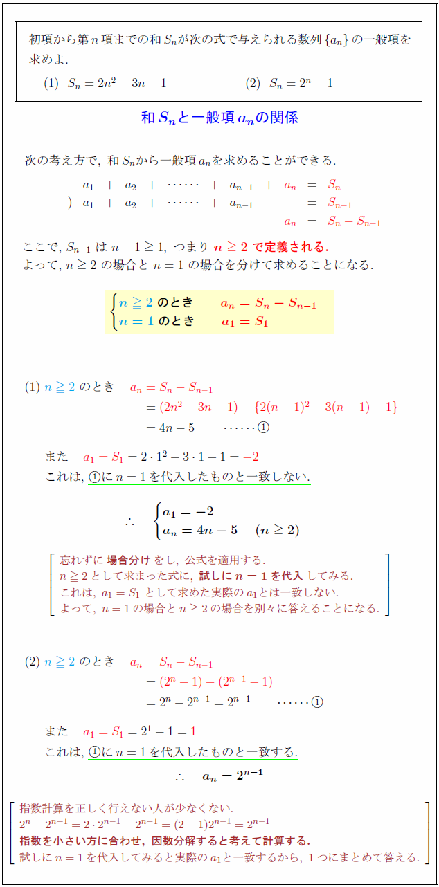 sum-general-term