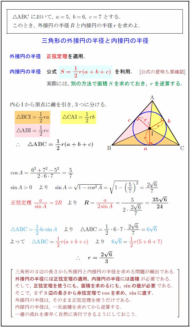circumcircle-incircle-radius